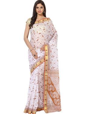 Branded Cotton Gadwal Sarees -Pcsrsd77