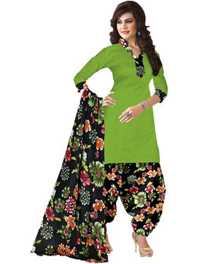 Pack of 2 Priya Fashions Printed Cotton Unstitched Dress Material -PF2S01