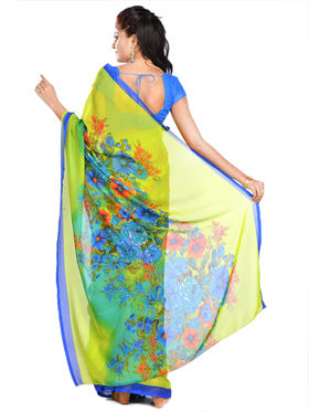 Poornima Collection of 7 Georgette Sarees by Pakhi (7G24)