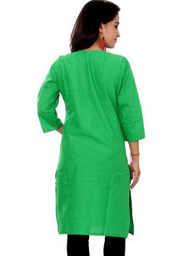 Set of 4 Priya Fashions Sanganeri & Jaipuri Cotton Printed Kurtis - PF102K4