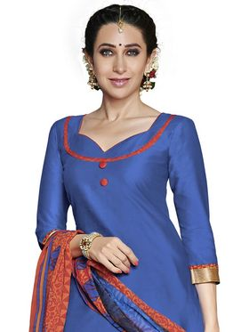 Khushali Fashion Crepe Self Dress Material -Rpsn99002