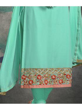 Viva N Diva Semi Stitched Georgette Embroidered Suit Rihanaa-1106