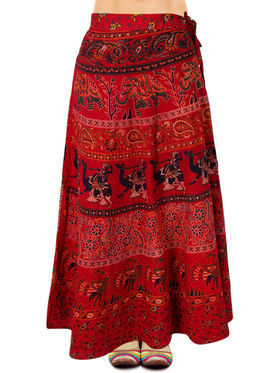 Amore Printed Cotton Skirt -SKVW22R