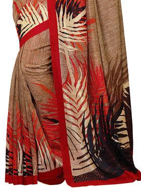 Shonaya Printed Handloom Cotton Silk Saree -Snkvs-3003-B