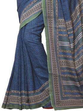 Shonaya Printed Handloom Cotton Silk Saree -Snkvs-3012-A
