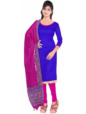 Khushali Fashion Art Silk Self Unstitched Dress Material -SSZVR1004