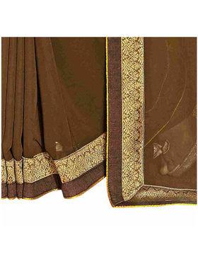 Khushali Fashion Georgette Embroidered Saree -Stast3207