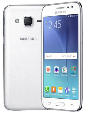 Samsung Galaxy J2 Android Lollipop, Quad Core Processor with 1GB RAM & 8GB ROM - White