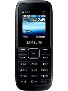 Samsung Guru FM Plus SM-B110E - Black