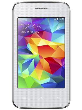 Spice Mi-347 Dual Sim Android Phone - White