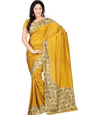 Combo of 5 Nanda Silk Mills Printed and Embroidered Saree -Sunsilk12