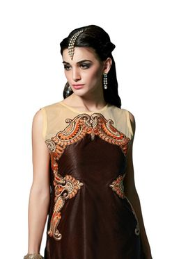 Thankar Semi Stitched  Heavy Laycra Embroidery Dress Material Tas274-23003