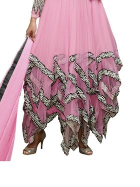 Thankar Semi Stitched  Georgette Embroidery Dress Material Tas278-14016