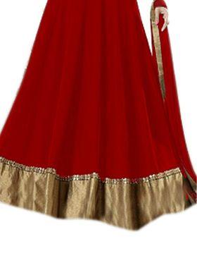 Thankar Semi Stitched  Georgette Embroidery Dress Material Tas284-143C