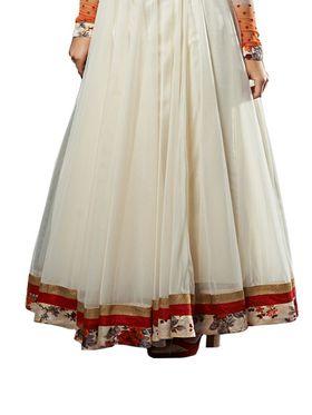 Thankar Semi Stitched  Georgette Embroidery Dress Material Tas286-5066