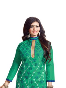 Thankar Semi Stitched  Cotton Embroidery Dress Material Tas288-2401