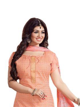Thankar Semi Stitched  Cotton Embroidery Dress Material Tas288-2415