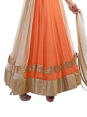 Thankar Semi Stitched  Georgette Embroidery Dress Material Tas298-5099