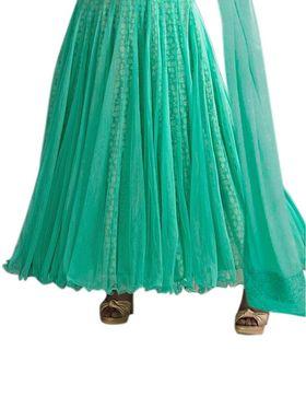 Thankar Semi Stitched  Net Embroidery Dress Material Tas298-6000