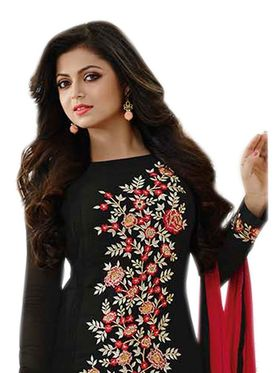 Thankar Embroidered Georgette Semi-Stitched Suit� -Tas317-174