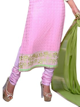 Thankar Embroidered Georgette Semi-Stitched Suit� -Tas319-25005
