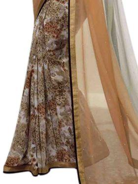 Thankar Embroidered Georgette Saree -Tds132-16638