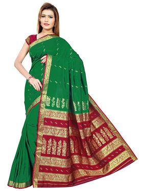 Triveni's Art Silk Zari Worked Saree -TSMRCC3005