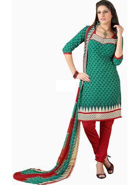 Khushali Fashion Crepe Printed Unstitched Dress Material -VRCLR21037