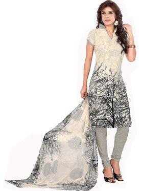 Khushali Fashion Crepe Self Unstitched Dress Material -VRUDV41036
