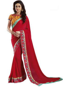 Nanda Silk Mills Fancy Traditional Saree_Vr-1810