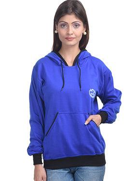 Eprilla Wool Plain  Sweatshirt - Blue -eprl71