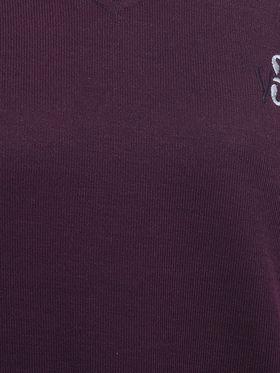 Eprilla Spun Cotton Plain Full Sleeves Sweater  -eprl34