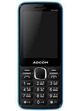 Adcom Fun X16 Dual Sim Mobile - Black&Blue