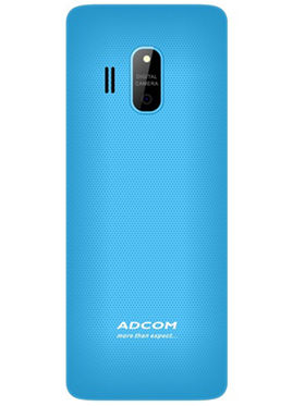 AdcomTrendy X17 Dual Sim Mobile- Black & Blue