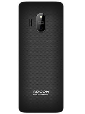 Adcom Trendy X17 Dual Sim Mobile- Black