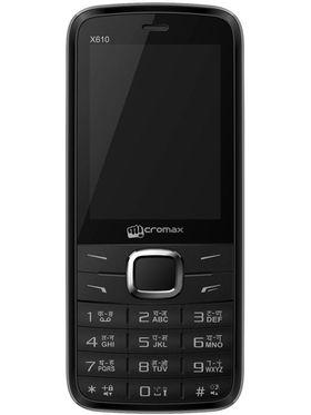 Micromax X610 Dual Sim Phone - Black