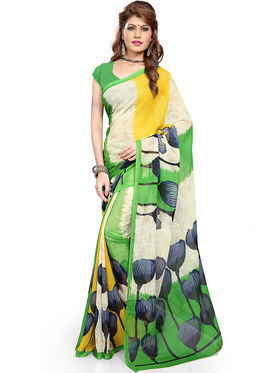 Combo of 3  Georgette Printed Saree -100-118