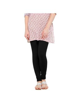 Oh Fish Solid Cotton Stretchable Leggings -zwe84