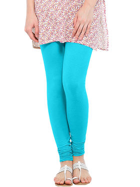 Pack of 2 Oh Fish Solid Cotton Stretchable Leggings -zwe46