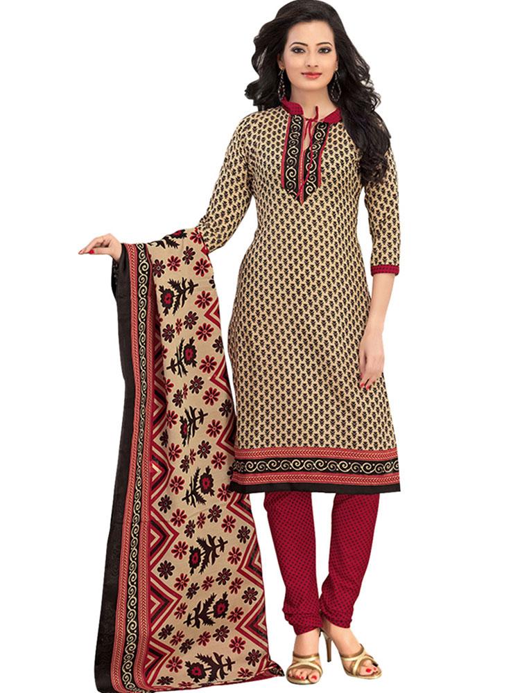 Cotton Dress Material