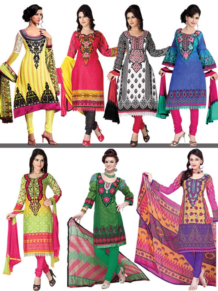 7 Pakistani Dress Material