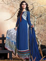 Viva N Diva Embroidered Pure Chanderi Silk Semi Stitched Suit 10022Elnaaz