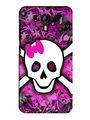 Snooky Digital Print Hard Back Case Cover For Micromax Canvas Nitro 3 E455 - Purple