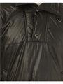 Branded Stripes  Full Sleeves Polyster Jacket For Men - Black