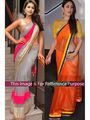 Pack of 2 Arisha Net and Georgette Embroidered Saree - 353 + 168