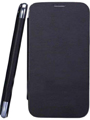 Camphor Flip Cover for Micromax A116 - Black