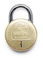 Godrej Navtal 8 Levers Deluxe Hardened Padlock with 3 Keys