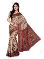 Combo of 5 ISHIN Bhagalpuri Silk Printed Saree-Combo31