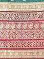 Ishin Banarasi Poly Silk Saree - Green-SNGM-994