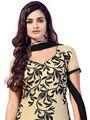 Thankar Semi Stitched  Chanderi Cotton Embroidery Dress Material Tas290-5506
